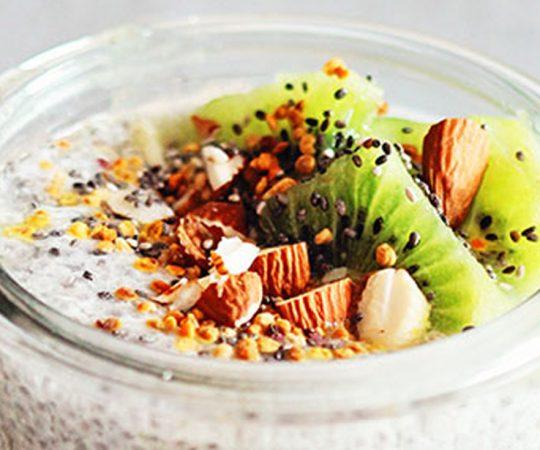 Kiwi Chia Pudding