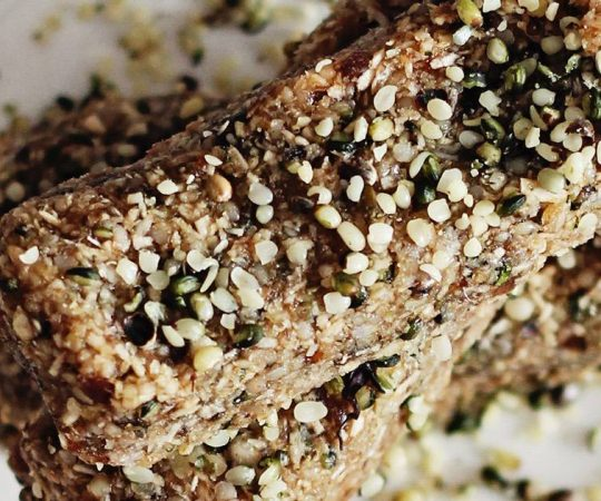 Hemp Heart Vegan Protein Bars