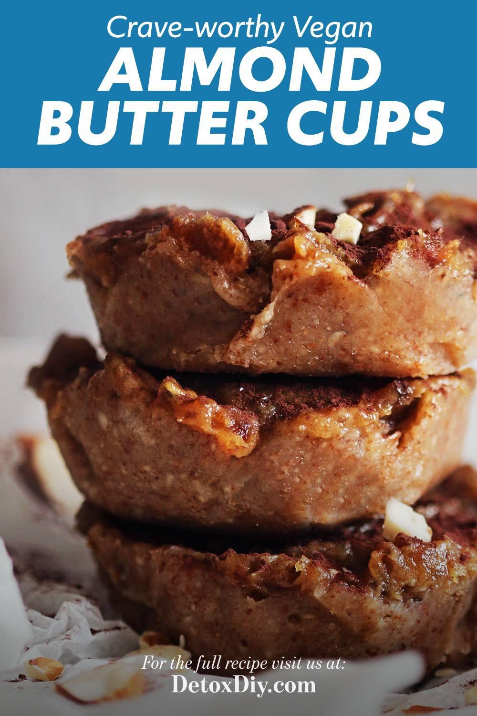 Vegan Almond Butter Cups